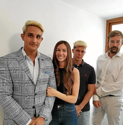 Felipe Herrera, Verónica Pedrón, Alberto F. Bonet y Pablo Gómez.