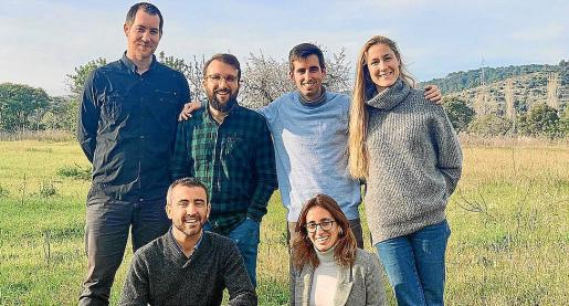 El equipo de Hustle Got Real, ganadores de Connect'Up 2019.