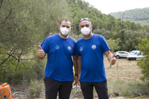 Dani Morillo y Manuel Vicente posan juntos.