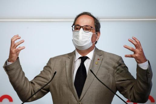 Imagen de archivo del presidente de la Generalitat.