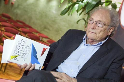 El divulgador científico Eduardo Punset, en una imagen de archivo.