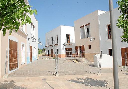 Imagen de las edificaciones que deben ser derribadas por sentencia judicial.