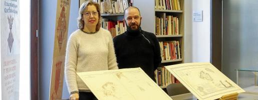 Ana Colomar y Pepe Tur, en una imagen de archivo.