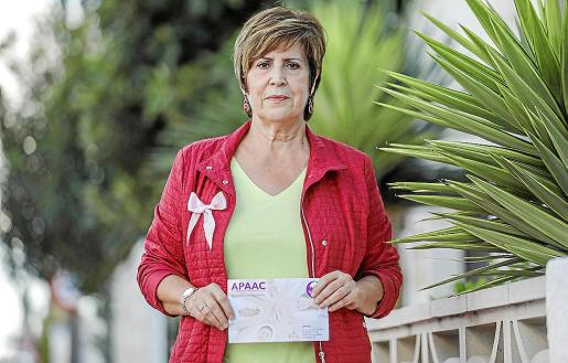Maribel Martínez es la presidenta de APAAC, que se fundó en 2015. Fotos: TONI P.