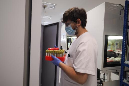 Laboratorio de Microbiología de Can Misses.
