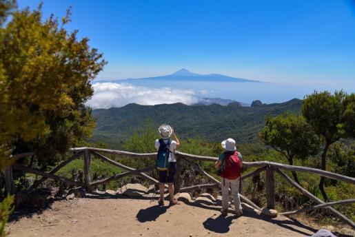 Turistas en La Gomera.
