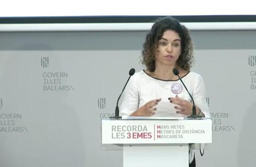 La consellera Rosario Sánchez.