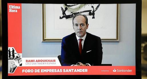 Rami Aboukhair, CEO de Banco Santander España, abogó por la modernización del turismo.
