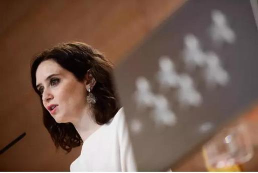 Imagen de archivo de la presidenta de la Comunidad de Madrid, Isabel Díaz Ayuso.