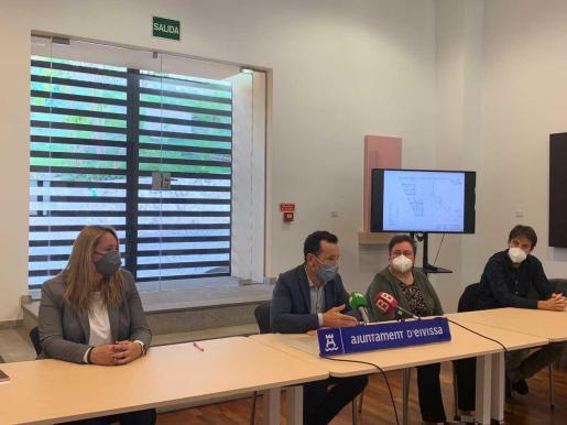 Imagen de la presentación del proyecto.