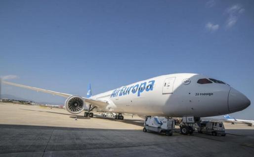 IBIZA - Air Europa anuncia su desembarco en la ruta Ibiza-Barcelona.