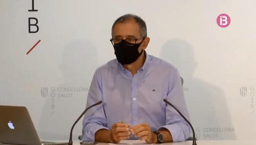 El portavoz autonómico del comité de enfermedades infecciosas, Javier Arranz.