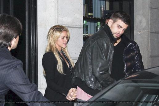 Shakira y Piqué, en una imagen de archivo.