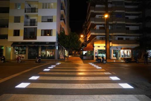 Así estaban las calles de Ibiza el primer día del toque de queda.