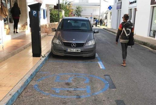 Zona azul de Formentera.