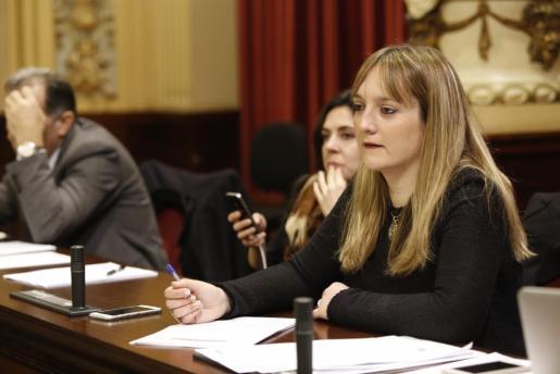 Tania Marí, en el Parlament, en una imagen de archivo.