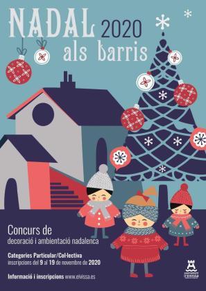 Vila impulsa un concurso de decoración navideña para asociaciones y vecinos.