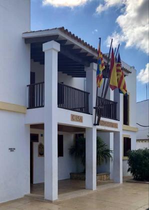 Imagen de archivo de la sede de la institución insular en Formentera.
