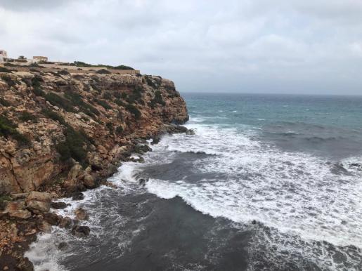 Tramo de costa donde ocurrió el naufragio.