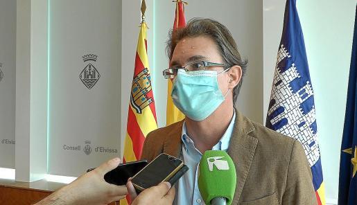 El conseller de Economía y Hacienda, Salvador Losa.