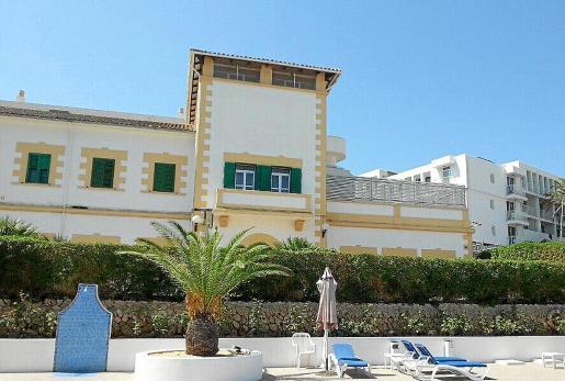 Imagen de la residencia militar de Sant Antoni.