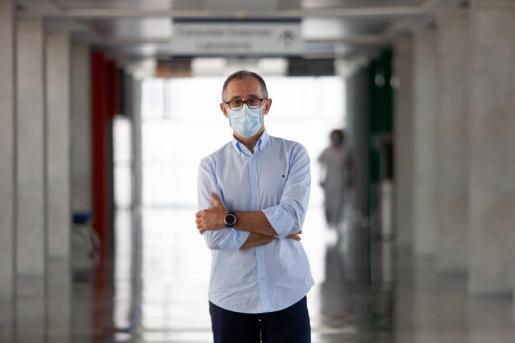 El doctor Javier Arranz, portavoz del comité del coronavirus en Baleares.