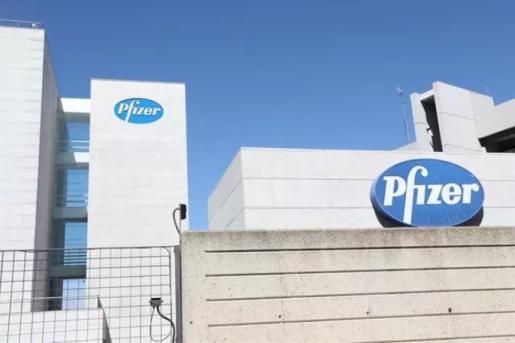 Logo de Pfizer en el edificio de los laboratorios de la marca en Madrid (España), a 2020. - Marta Fernández Jara - Europa Press - Archivo