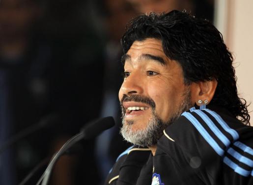 Maradona, en una imagen de archivo.