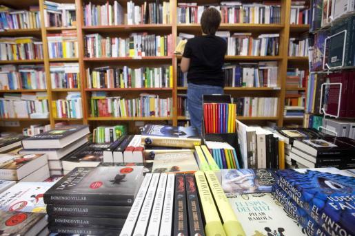 Imagen de archivo de una librería de Ibiza.