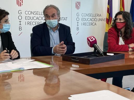 El conseller de Educación, Martí March.