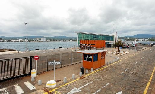 Imagen de la estación marítima de Sant Antoni.
