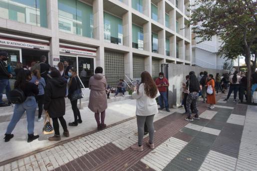 500 solicitudes en un solo día. Ayer a las 17.30 finalizó el personal del Consell d'Eivissa de recoger las 500 solicitudes que se presentaron a la línea de ayudas en un solo día.