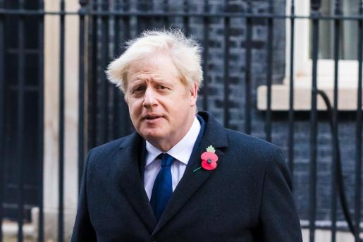 El primer ministro Boris Johnson.