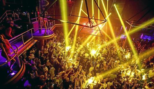 El interior de una discoteca, en una imagen de archivo.