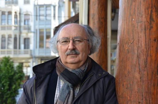 Imagen de archivo del poeta leonés Antonio Colinas.