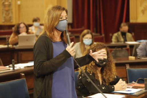 La votación ha transcurrido sin sorpresas y las enmiendas han sido rechazadas con el voto en contra de PSIB, Unidas Podemos, MÉS y el Grupo Mixto y la abstención de Cs.