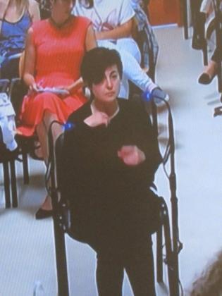 Rosario Porto declara en el juicio por la muerte de Asunta.