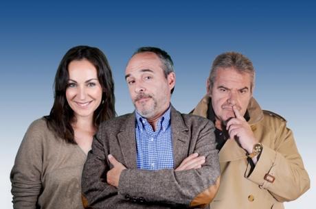 Ana Milán, Fernando Guillén Cuervo y Ángel de Andrés protagonizan 'Wilt' en el Teatre Principal de Palma.