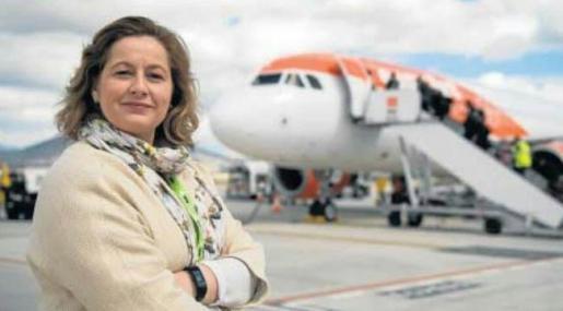 Marta Torres, directora del aeropuerto de Ibiza.