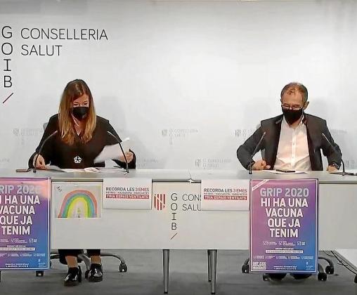 Patricia Gómez y Javier Arranz, durante la rueda de prensa.