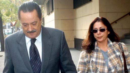 Isabel Pantoja y Julián Muñoz en una imagen de archivo.