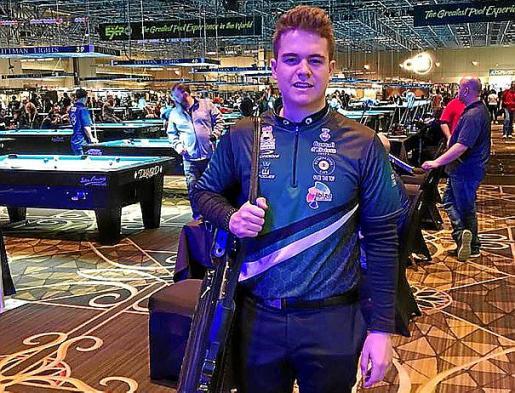En el Mundial absoluto de Las Vegas el pasado marzo.