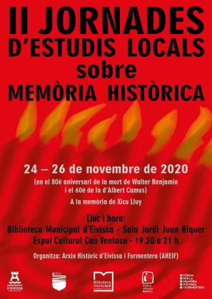 La historia contemporánea a debate con Xicu Lluy, Walter Benjamin y Albert Camus en la memoria.