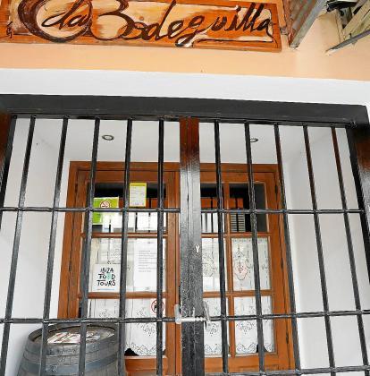 Muchos negocios hosteleros decidieron cerrar sus puertas por las restricciones.