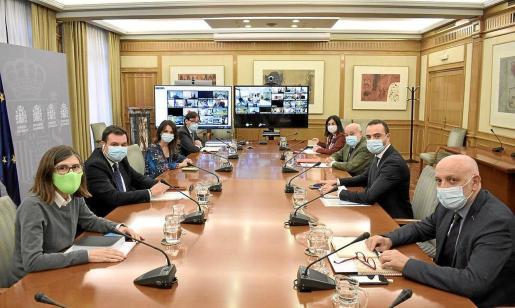 Imagen del Consejo Interterritorial de Salud del pasado 14 de octubre.