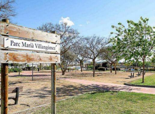 El parque Marià Villangómez en una imagen de archivo.