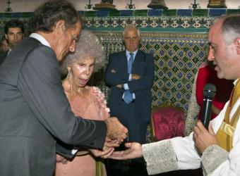 Boda de la duquesa de Alba y Alfonso Díez