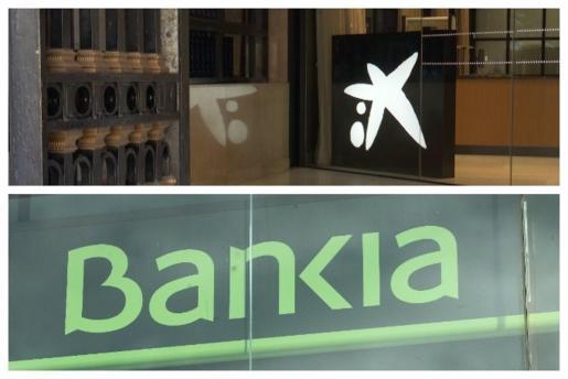 CaixaBank y Bankia.
