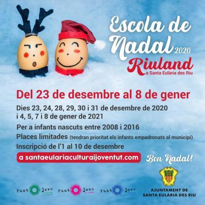 Escola de Nadal del ayuntamiento de Santa Eulària.