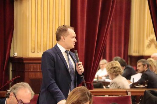 El diputado del Grupo Parlamentario Ciudadanos, Maxo Benalal, en una imagen de archivo.